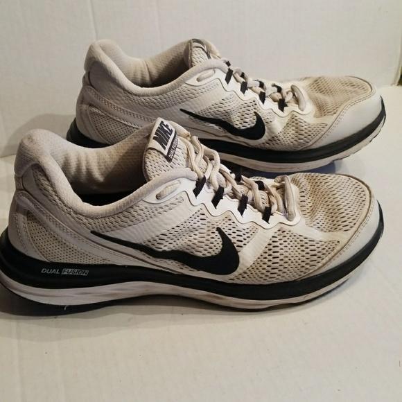 najwyższa jakość oficjalne zdjęcia najlepsza moda Nike Dual Fusion Run 3 men's shoes size 9